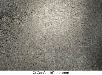 Cement wall