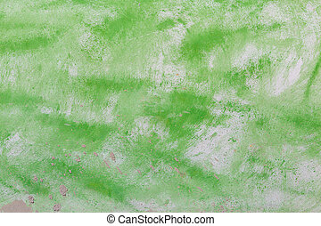 cement wall texture with green paint color