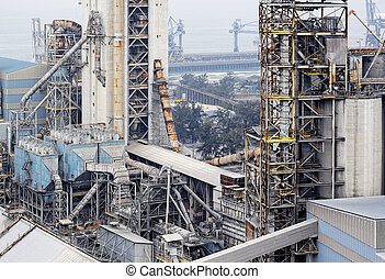 cementeren fabriek