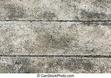 cemento, concreto, grunge, fondo, struttura