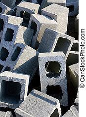 cemento, mattoni