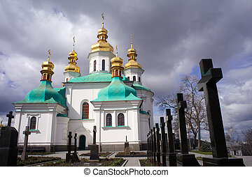 cemetary, pechersk, kiev, lavra
