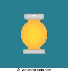 cemetery candle, All Saints' Day lantern