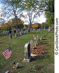 Cemetery in Autumn 11