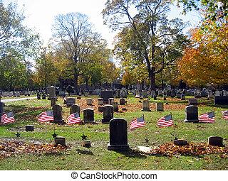 Cemetery in Autumn 13