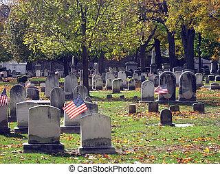 Cemetery In Autumn 15