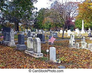 Cemetery in Autumn 9