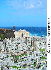 Cemetery in old San Juan