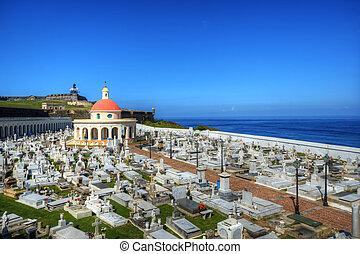 Cemetery in San Juan, Puerto Rico - HIstoric cemetery in San...