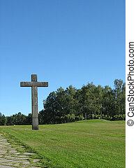 cemitério, em, estocolmo, (unesco, patrimony)