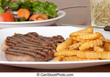 cena, bistecca