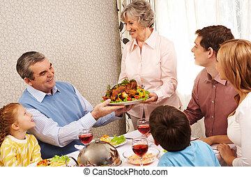 cena, famiglia