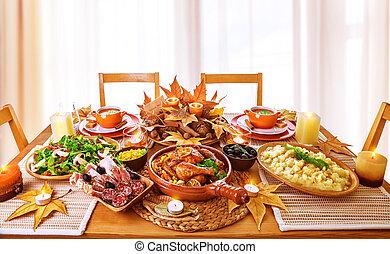 cena, festivo