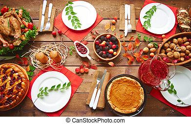cena, otoño