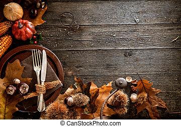 cena ringraziamento