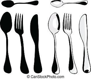 cenando, accessori