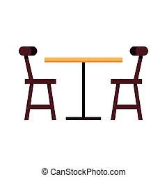 cenar, blanco, tabla, de madera, plano de fondo