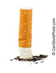 ceniza del cigarrillo, butt