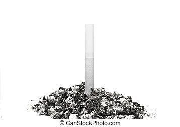 ceniza del cigarrillo