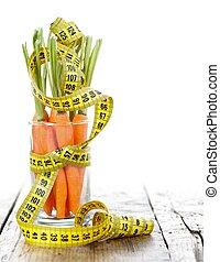 cenoura, condicão física