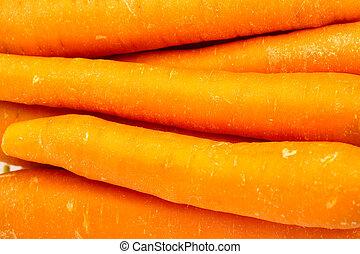 cenouras, closeup
