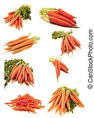cenouras, mural
