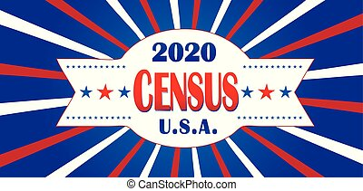 census, bandera, 2020