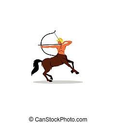 Centaur archer sign.