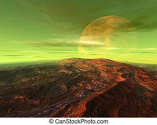 centauri, luna