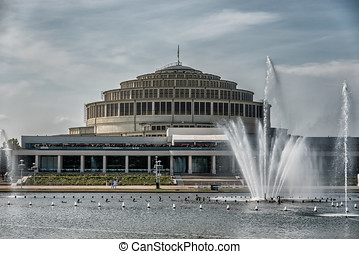 Centennial Hall from Max Berg in Wroclaw