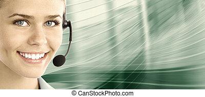 center., client, helpdesk., support., appeler
