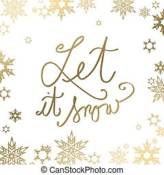 center., dorato, testo, astratto, esso, neve, permettere,...