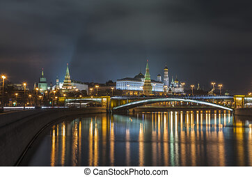 Center of Moscow.