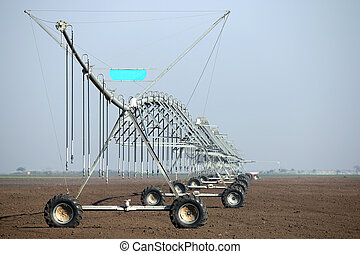 center pivot sprinkler system agriculture industry
