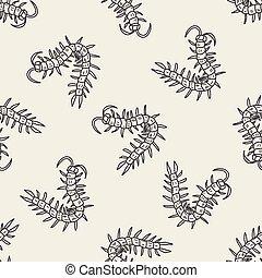 Centipede doodle