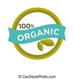 cento, percento, organico, segno