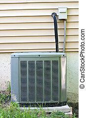 Central AC Condenser Unit