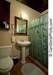 central america hotel bathroom