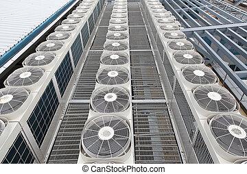 central, ar, condicionadores