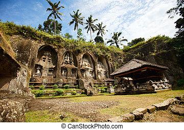 Central Bali temple - Beautiful Gunung Kawi Temple at...