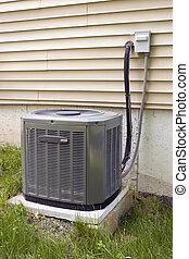 central, condicionamento, ar