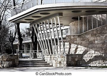 Central entrance of the Sea Garden in Varna