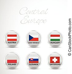 central europe flag