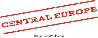 Central Europe Watermark Stamp