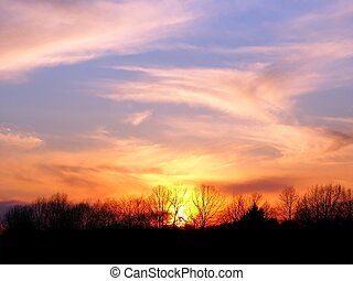 Central Illinois Sunset