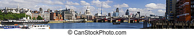 Central London panorama