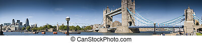 Central London panorama - XXXL-Panoramic picture of Central...