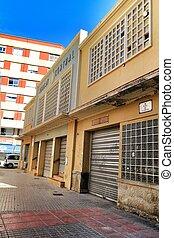 Central market facade in Elche