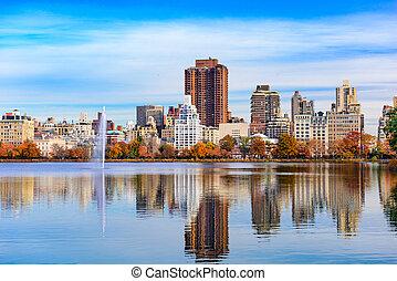 Central Park Autumn