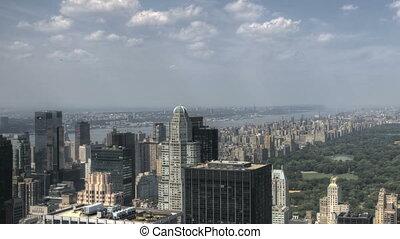 Central Park HDR Aerial